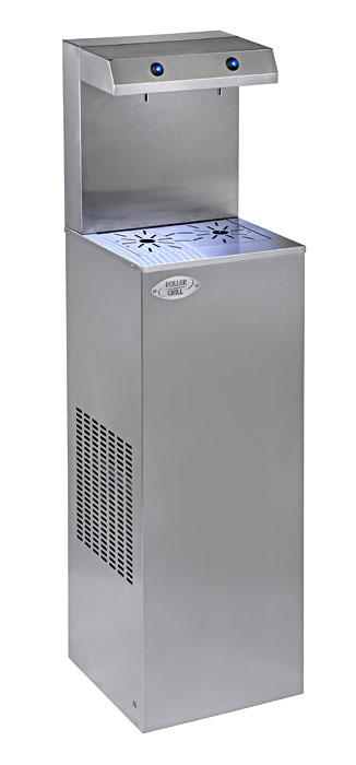 Photo d'une fontaine à eau réfrigérante et refroidisseur d'eau professionnel