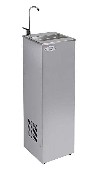 Photo d'une fontaine à eau réfrigérée en inox pour hôpitaux: 30 litres par heure