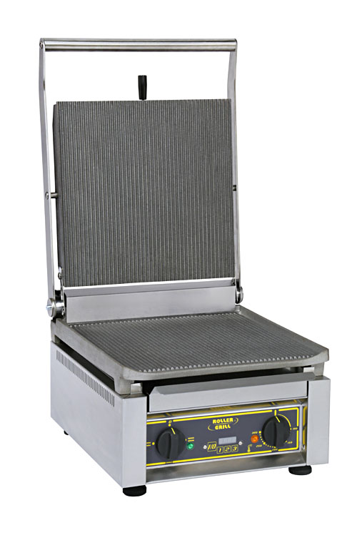 Photo d'un grill professionnel électrique et multi contact grill
