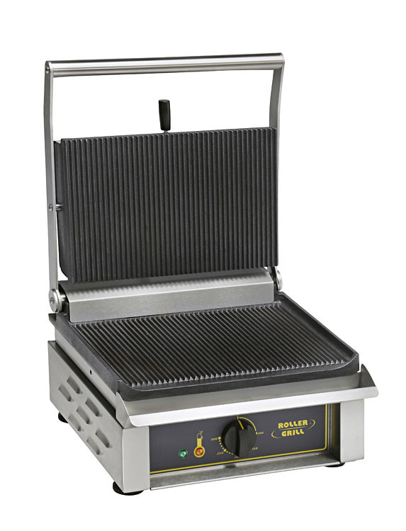 Photo d'une Machine à panini professionnelle : contact grill panini
