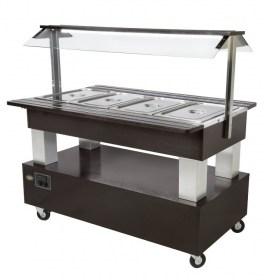 Photo d'un meuble buffet self-service pour restaurant - SB 40 M