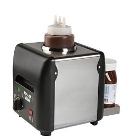 Photo d'un chauffe chocolat électrique (appareil ou machine chauffe chocolat)
