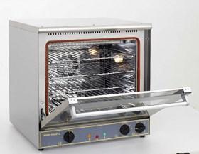 Photo d'un four combiné vapeur chaleur tournante avec humidificateur