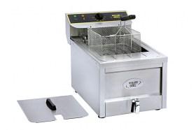 Photo d'une friteuse électrique pro 10 - 12 litres avec vidange