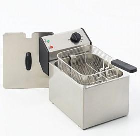 Photo d'une friteuse professionnelle 6 - 8 litres