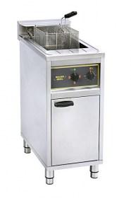 Photo d'une friteuse professionnelle 16 litres sur coffre pour poulet frit