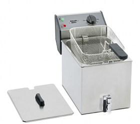Photo d'une friteuse professionnelle 6 - 8 litres à zone froide