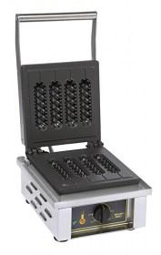 Photo d'un gaufrier pour gaufre sucette : gaufrier électrique professionnel