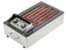 photo d'un Grill électrique à pierre de lave et bbq à pierre de lave
