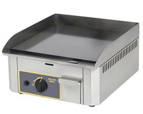 Photo d'une plancha en acier emaillé au gaz avec une zone de cuisson