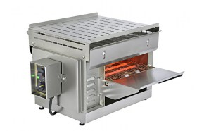 Photo d'un toaster convoyeur et four toaster professionnel pour snacks