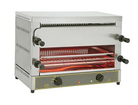 Photo d'un toaster salamandre Roller Grill multifonction à 2 étages