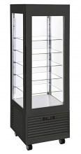 Photo d'une vitrine négative verticale: vitrine réfrigérée à froid ventilé