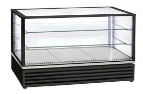 Photo d'une vitrine réfrigérée pour boulangerie et gâteaux : vitrine positive