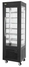 Photo d'une vitrine réfrigérée pour chocolat : vitrine verticale et ventilée