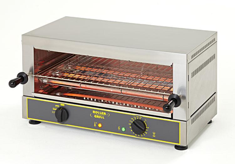 Photo d'un toaster salamandre à infrarouge