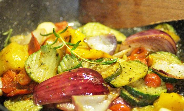 cuisson plancha legumes