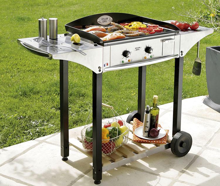 plancha roller grill PL600 E et CHPS600