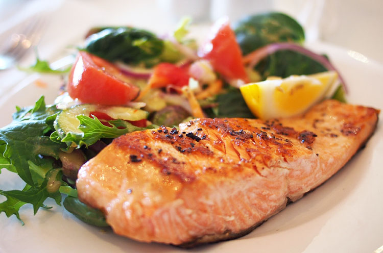 saumon a la plancha ou barbecue