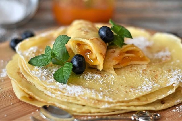 Pancakes crepes