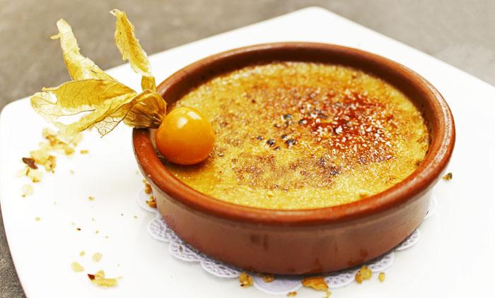 dessert cuisine avec salamandre 4157098