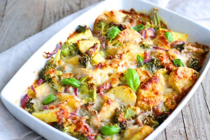 gratin broccoli cuisine avec salamandre professionnelle 1804446
