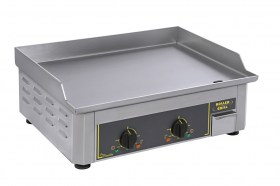 Stainless steel plancha pro electric